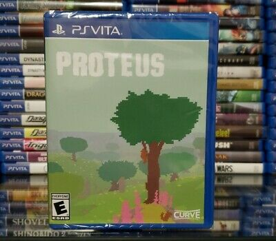 Proteus (Sony PlayStation PS Vita, Limited Run Games LRG #219) BRAND NEW, SEALED