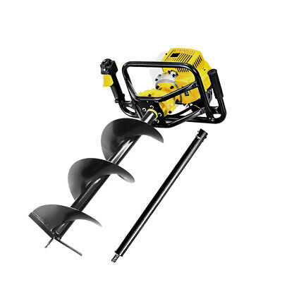 Giantz 88CC Post Hole Digger Petrol Auger Drill Borer Fence Earth Power