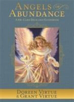 Angels of Abundance Oracle Cards: A 44-Card Deck and Guidebook by Virtue, Doreen