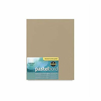 Pencils and Ink Ampersand Museum Series Pastelbord for Pastels Charcoal 1//8 Inch Depth 11X14 Inch Green PBG11