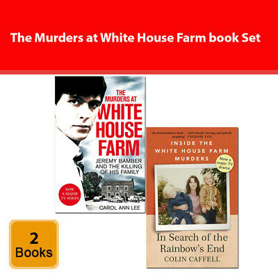 Murders at White House Farm, In Search of the Rainbow's End 2 Books Set PB NEW