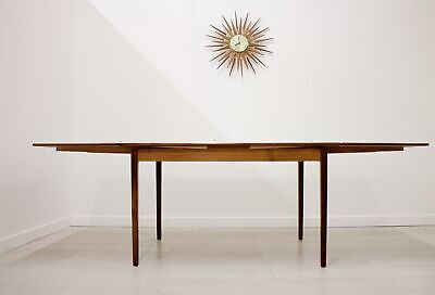DELIVERY £60 Mid Century Retro Danish Teak Extending Dining Table