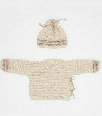 Bergere de France Crossover Cardigan and Hat Kit