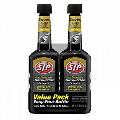 STP 5.25-Oz. Fuel Injector Cleaner Restores Performance 4-Packs Free Shipping
