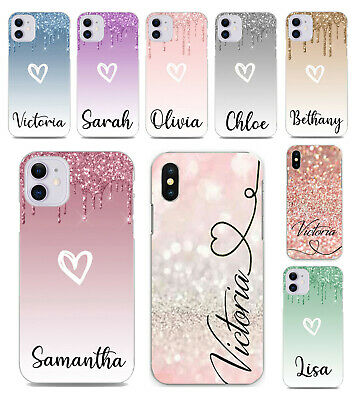 Case For iPhone 8 7 6 Plus 5s XS Max XR 11 Personalised initials designs