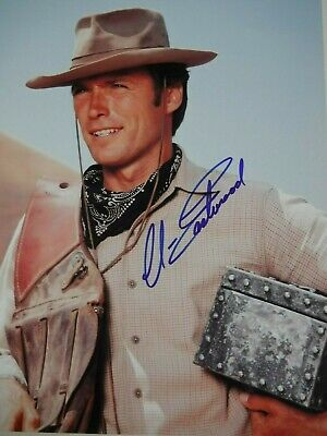FOTO  Clint Eastwood Autografata Signed + COA Photo autografo