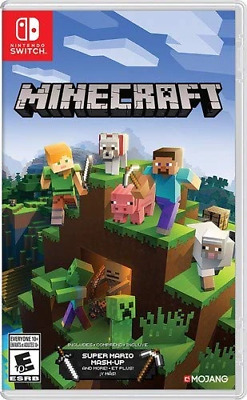 Minecraft (Nintendo Switch, 2018) Brand New - Region Free