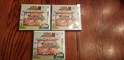 Nintendo Animal Crossing: Happy Home Designer (Nintendo 3DS, 2015) *SEALED*