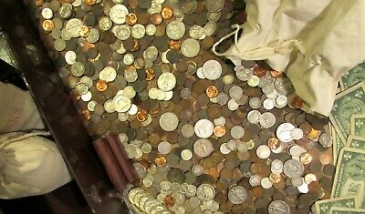 Estate Lot Old Us Coins Uncirculated Bullion Sale Mixed Liquidation Hoard Pds
