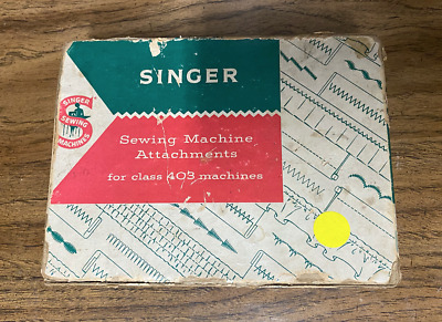 Vintage Singer Sewing Machine Attachments for Class 403 Machines Slant-O-Matic