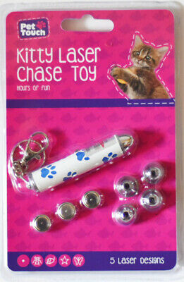 Cat Kitty Laser Chase Toy