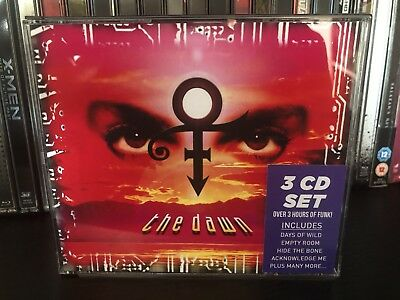 Prince The Dawn 3 CD Set RARE and OOP Inc 20 Page Glossy Booklet And OBI Sticker