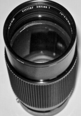 VIVITAR Series 1 70-210MM f3:5 MACRO FOCUSING ZOOM 62 MM Spectrum 7 with Pouch!