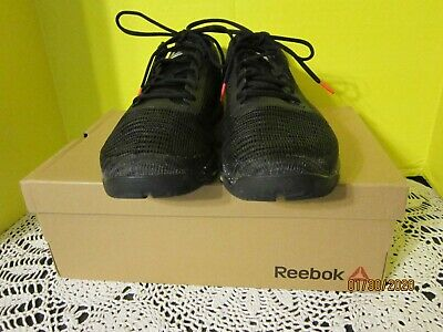 Reebok Men's Speed Tr Flexweave Cross Trainer Sneakers Black Size 12 M