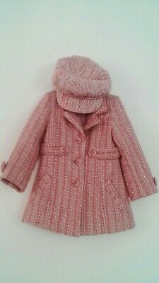 "Amazing ""PUMPKIN PATCH""Girl s Pink Coat And Hat Size 3"
