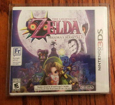The Legend of Zelda: Majora's Mask 3D (Nintendo 3DS, 2015) *COLLECTOR QUALITY*