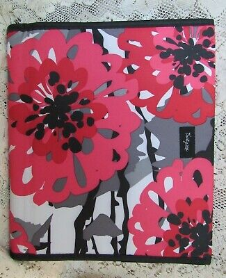 Thirty-One Fold-It-Up Organizer Bold Bloom Colorful Flowers - iPad/Tablet Cover