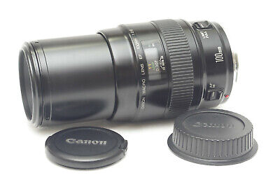 [Excellent] Canon EF 100mm F/2.8 Macro Lens from Japan_426