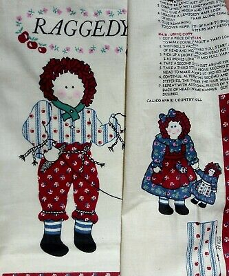 sleeps and cries RARE Vintage Cloth Doll Pattern 3-in-1 ~ She laughs