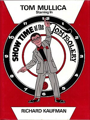 Tom Mullica-Showtime at the Tom-Foolery-1st Ed-Cards-Jokes-Gags-Close-Up Magic