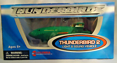 Thunderbird 2 Light And Sound Vehicle Official Movie Merchandise - New In Box