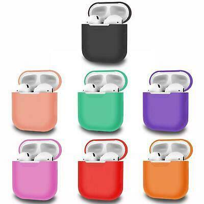 For Apple AirPods 1 2 Case Cover Silicone Skin AirPod Pro Earphone Charger Cases