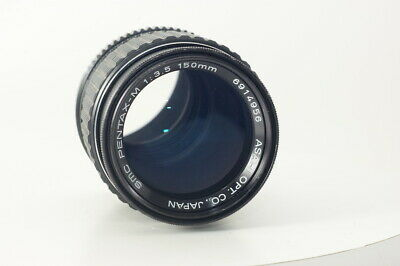 Pentax SMC PENTAX-M 150mm F3.5 for K Mount Lens [Excellent+++++] from JAPAN