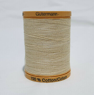 Gutermann 100% Natural Cotton Sewing, embroidery thread
