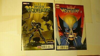 All New Wolverine 1-35 Annual Complete Comic Lot Run Set Marvel Tom Taylor