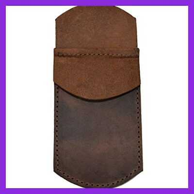 Durable Leather Pocket Protector Pencil Pouch Pen Holder Office & Work Essential