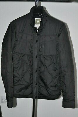 G star Batt Hooded Overshirt Jacket Navy Mens Size UK M *REF57