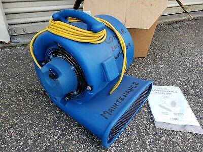 Edic Aqua Dri 3004AD 3 Speed 2400 CFM Blower Dryer Air Mover Local Pick Up Only