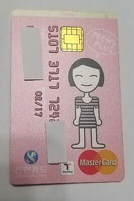 credit card korea mastercard expired t money metro