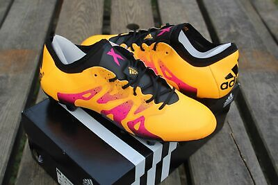 ADIDAS X 15.1 Fg Ag Orange Hommes A Lacets Football Bottes