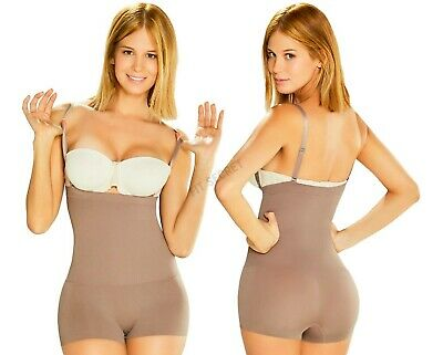 Faja Colombiana para Vestido Strapless Seamless Thermal Colombian Body Shaper