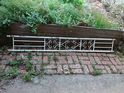 VINTAGE Iron ballustrade  fence partition  C1950s