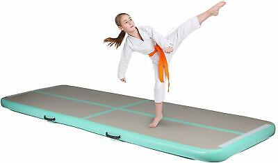 Milliard 10ft/13ft Air Track Inflatable Gymnastics Tumbling Air Track Mat with E