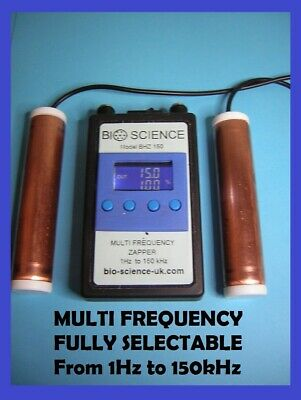 ZAPPER - Multi Frequency 1Hz to 150kHz -Dr Hula Clark & Dr Bob Beck