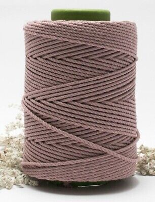Macrame 3 Ply Twisted Rope