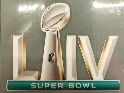 SUPER BOWL 54 LIV -FLEX  PATCH- IRON ON - 4 INCHES WIDE- CHIEFS - 49ers