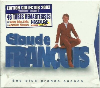 2 Cd Claude Francois Coffret Collector Edition Limitee / Neuf / Scelle