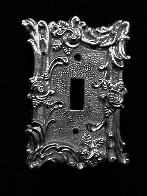 Vintage American Tack & Howe Co. 1967 Light Switch Metal Plate In ~ # 60T