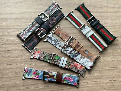 I Watch Band leather  for Watch Series 5 4 3 2 1 44mm 42mm 40mm 38mm