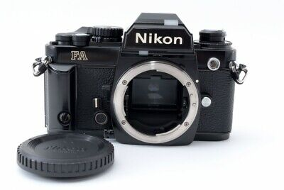 NIKON FA 35mm SLR Film Camera Black Body Only FROM JAPAN [Exc+++++] #544465A