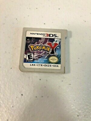 Pokemon Y (Nintendo 2DS/3DS, 2013) - CARTRIDGE ONLY, TESTED