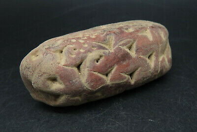Rare Ancient Clay Tablet Uncertain Writing / Sign Early
