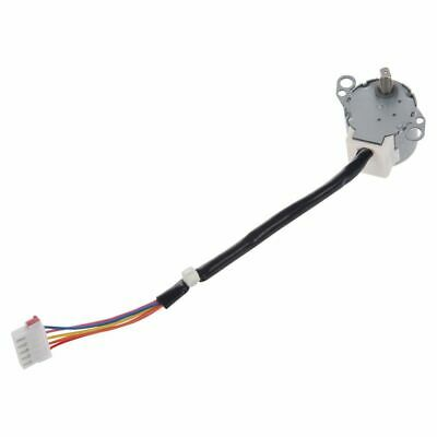 DC 12V CNC Reducing Stepping Stepper Motor 0.6A 10oz.in 24BYJ48 Silver T5X2