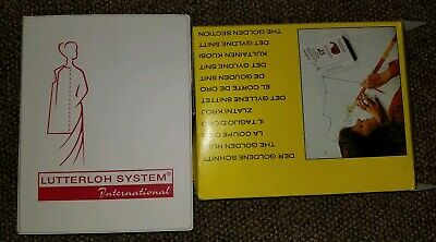 Lutterloh System Golden Rule DIY Pattern Book new never used