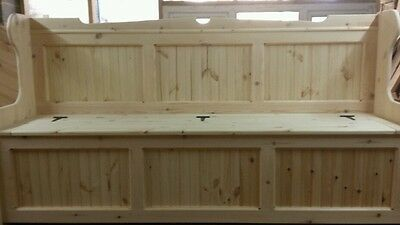 183 cm (6ft)  Wide Church pew/Monks Bench Settle  ( ANY SIZE MADE )