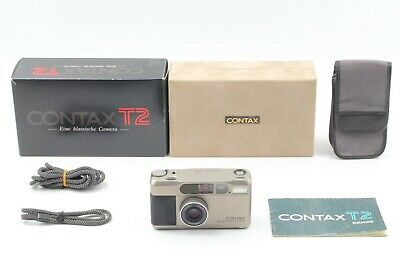 【TOP MINT in BOX】 Contax T2 35mm Point & Shoot Film Camera From JAPAN